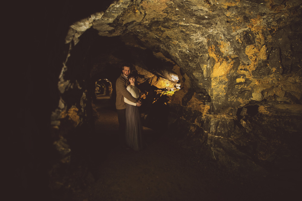 celtic ceremony in one of the oldest caves in ireland heart of