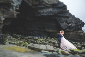Blush pink funky wedding at Clonabreany House - S&E